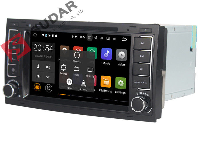 DAB+ Tuner Vw Touareg Dvd Player , Volkswagen Gps Stereo With Bluetooth Heat Dissipation