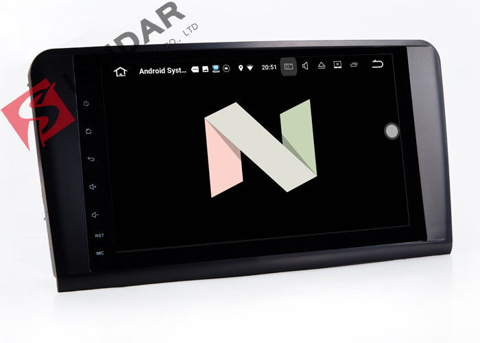 9 Inch Double Din Radio Android Auto Car Stereo For Mercedes Benz R Class