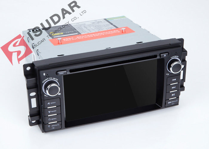 GPS Navigation Radio Jeep Car Stereo Multimedia Player System With Rear Viewing Function