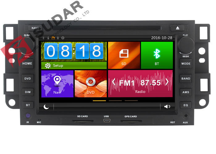 In Car Chevrolet Epica Dvd Player , Double Din Touch Screen Car Dvd Player With Navigation