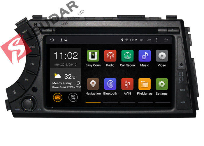Android 7.1.1 Car GPS Navigation DVD Player For SsangYong Actyon / Kyron / Korando