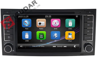 Digitale VW-Touch screenradio, Gps van Volkswagen Touareg DVD Navigatiespeler